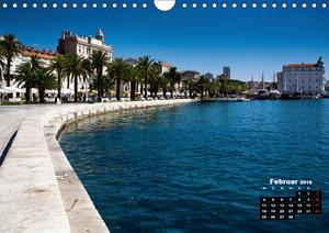 Kroatien - Split und die dalmatinische Küste (Wandkalender 2019