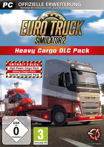 Euro Truck Simulator 2, Heavy Cargo DLC Pack, 1 CD-ROM