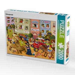 Zirkusparade 2000 Teile Puzzle quer