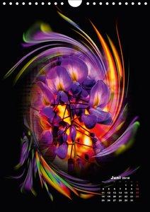 Blühende Fantasie - Digitalkunst