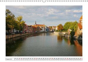 Unterwegs in Flandern (Wandkalender 2019 DIN A3 quer)