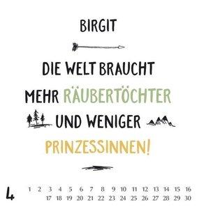 Namenskalender Birgit