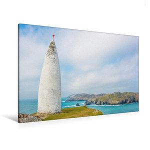 Premium Textil-Leinwand 120 cm x 80 cm quer Baltimore Beacon