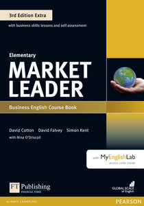 Market Leader Extra Elementary Coursebook with DVD-ROM and MyEng