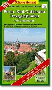 Bad Gottleuba-Berggießhübel, Pirna und Umgebung 1 : 35 000. Radw