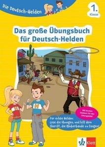 Klett Die Deutsch-Helden Das große Übungsbuch für Deutsch-Helden