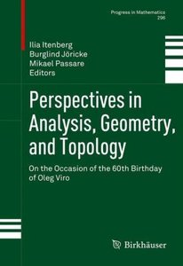 Perspectives in Analysis, Geometry, and Topology