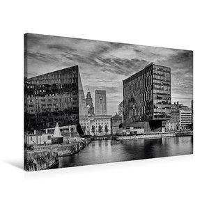 Premium Textil-Leinwand 90 cm x 60 cm quer Liverpool