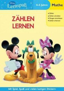 Disney Lernspaß. Zählen Lernen: 4-5 Jahre Mathe