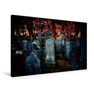 Premium Textil-Leinwand 90 cm x 60 cm quer Gothic Fantasy - Wart