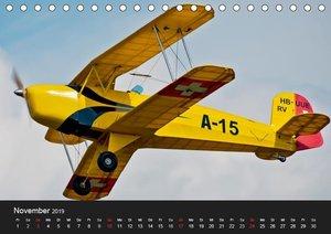 Modellflieger / CH-Version (Tischkalender 2019 DIN A5 quer)