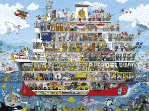 Cruise. Puzzle 1500 Teile