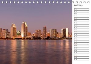 Skylines weltweit (Tischkalender 2019 DIN A5 quer)