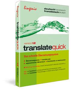 translate quick Französisch Version 12, 1 CD-ROM