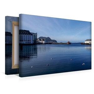Premium Textil-Leinwand 45 cm x 30 cm quer Ålesund