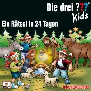 Die drei ??? Kids - Ein Rätsel in 24 Tagen (3 Audio-CDs)