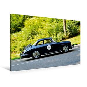 Premium Textil-Leinwand 90 cm x 60 cm quer Porsche 356 Karmann H