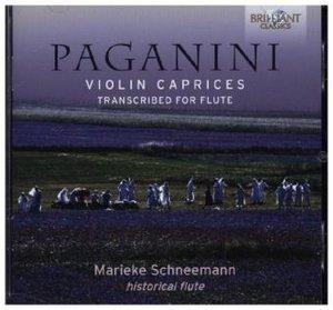 Paganini:Violin Caprices-Transcribed