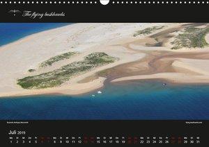 Afrika Vogelperspektiven (Wandkalender 2019 DIN A3 quer)