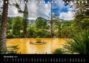 Naturblicke - Heiße Quellen (Tischkalender 2019 DIN A5 quer)