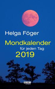 Mondkalender für jeden Tag 2019 Abreißkalender