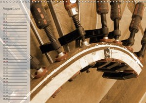 Altes Handwerk: Bogenbau (Wandkalender 2019 DIN A3 quer)