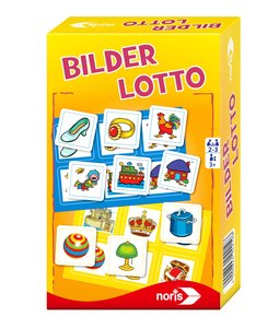Noris 606094219 - Bilder Lotto, Kinderspiel