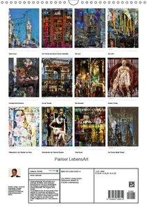 Pariser LebensArt (Wandkalender 2018 DIN A3 hoch)