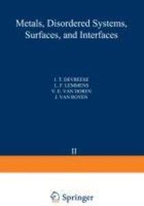 Recent Developments in Condensed Matter Physics