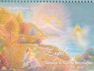 ENGEL-Gemälde und tägliche Botschaften für 2018