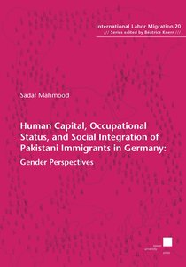 Human capital, occupational status, and social integration of Pa