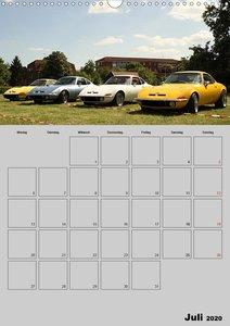 Opel GT Terminplaner (Wandkalender 2020 DIN A3 hoch)