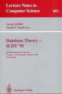 Database Theory - ICDT '95