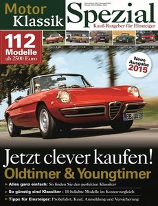 Motor Klassik Spezial - Kaufratgeber 2015