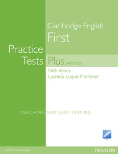 Practice Tests Plus FCE New Edition Students Book with Key/CD Ro