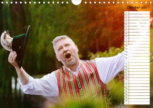 Dirndl, Tracht und Lebensfreude (Wandkalender 2020 DIN A4 quer)
