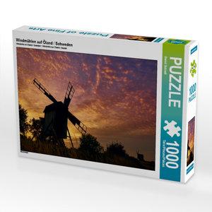 Windmühlen auf Öland / Schweden 1000 Teile Puzzle quer