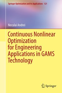 Continuous Nonlinear Optimization for Engineering Applications i