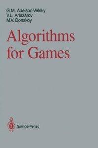 Algorithms for Games