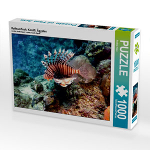 Rotfeuerfisch, Koraffi, Ägypten 1000 Teile Puzzle quer