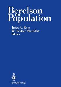 Berelson on Population