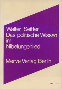 Das politische Wissen im Nibelungenlied