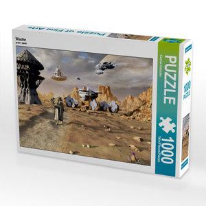 Wache 1000 Teile Puzzle quer