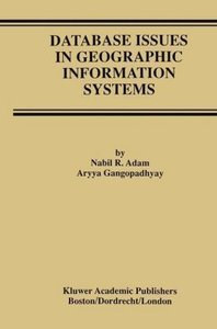 Database Issues in Geographic Information Systems