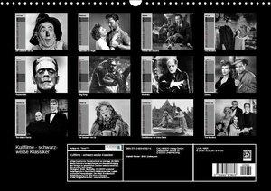 Kultfilme - schwarz-weiße Klassiker (Wandkalender 2019 DIN A3 qu