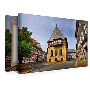 Premium Textil-Leinwand 45 cm x 30 cm quer Bäckergildehaus