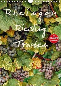 Rheingau - Riesling Trauben