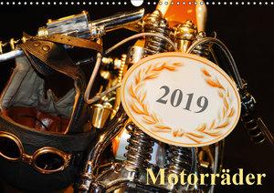 Motorräder (Wandkalender 2019 DIN A3 quer)