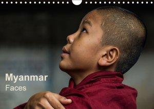 Myanmar - Faces / UK-Version (Wall Calendar 2015 DIN A4 Landscap