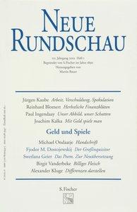 Neue Rundschau 2001/1